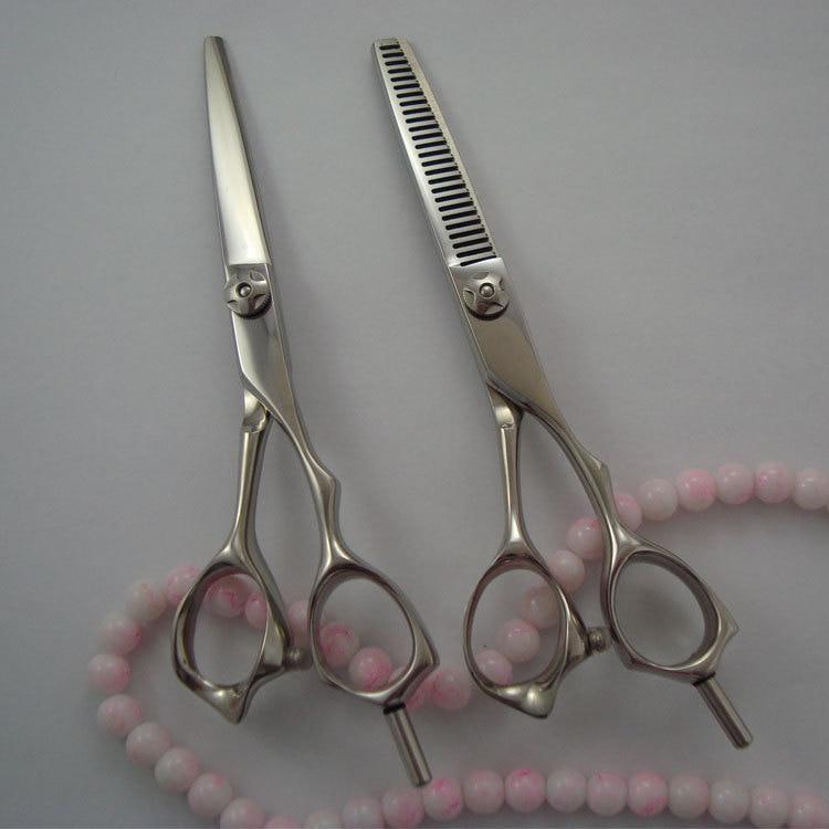 "Free case!   hair scissors set 5.5""  Professonal hair styling tools Japanese 440C"