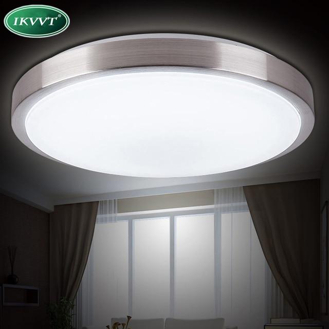 Deckenleuchten Led Lampe Durchmesser 26 Cm Acryl Panel Aluminium
