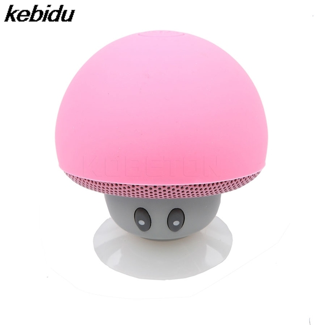 New kebidu Wireless Bluetooth Mushroom Speaker for Xiaomi For iPhone phone Portable Waterproof Speaker Stereo Music Player