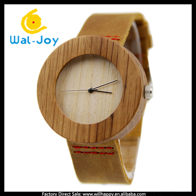 10/lot WJ-5359 big wooden dial unique simple design hot sale casual trendy men wrist watch