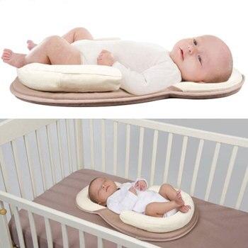 Newborn Portable Bed Travel Crib Baby Bed Breathable Cradle Mattress Newborn Anti-rollover Pad Infant Anti-head Pad