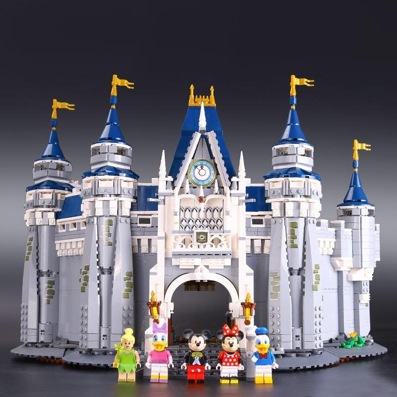 LEPIN 16008 Creator Cinderella Princess Castle City 4080pcs Model Building Mini figures Block Kid Toy Gift