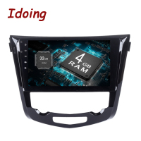 Idoing 2Din 10 2 8Core 4 32 2 16G Android8 0 7 1For Nissan Qashqai 2014