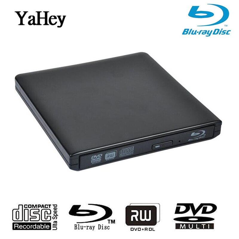 USB 3.0 lecteur DVD Bluray Graveur Externe lecteur optique BD-RE Blu-ray Superdrive CD/DVD RW Writer Enregistreur Lecteurs Pour Ordinateurs Portables