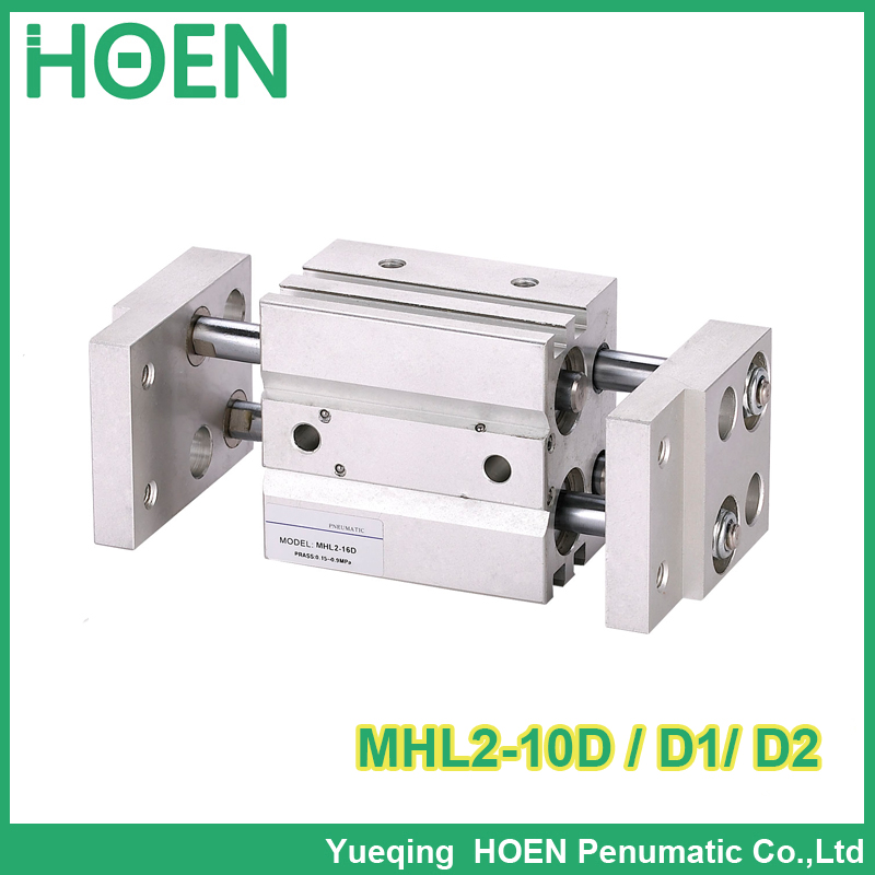 Double acting pneumatic gripper wide type MHL2 10D Parallel style air gripper pneumatic cylinders MHL2 10D1