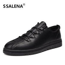 Men Summer Breathable Leather Casual Shoes Moccasins Comfortable Men Flats Shoes Autumn Platform Classic Shoes AA12305
