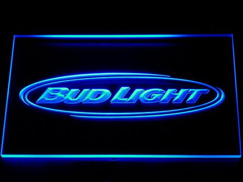 001 Bud <font><b>Light</b></font> Beer Bar Pub Club NR LED Neon Sign with On/Off Switch 20+ Colors 5 Sizes to choose
