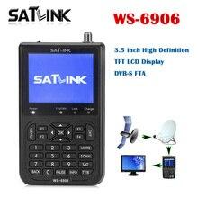 Satlink WS-6906 Digital Satellite Tv Receiver DVB-S FTA with 3.5 inch LCD HD Satlink 6906 satellite signal Finder