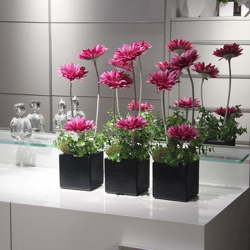 Silk Flower Simulation Flower Artificial Flowers Suit The Living