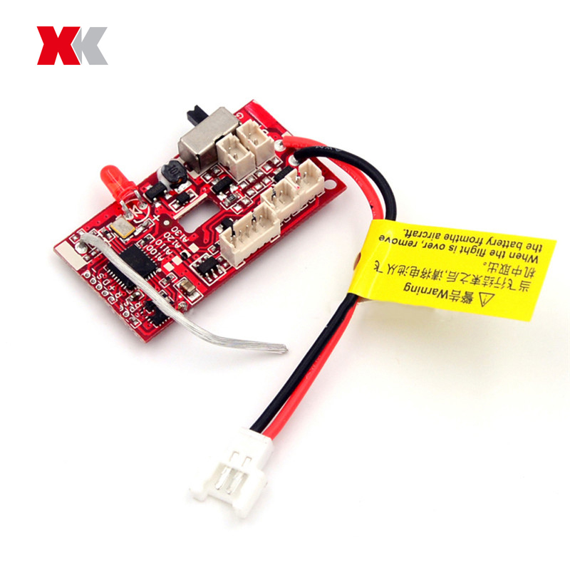 XK A100-J11 2.4G 3CH RC Airplane Spare Part 3CH Receiver Board For RC Drone Quadcopter Spare Parts Accessories image