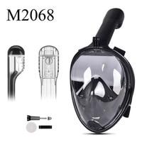 Full Face Snorkeling Mask Set Diving Underwater Swimming Training Scuba Mergulho Snorkeling Mask For Gopro Camera