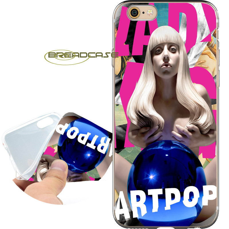Coque Sexy Lady Gaga Fundas Soft Clear TPU Silicone Phone Cases for iPhone X 8 7 6S 6 Plus 5S SE 5 5C 4S 4 iPod Touch 6 5 Cover.