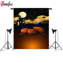5x7ft Halloween fête photo fond vinyle tissu photographie décors ordinateur impression fond studio photo(China)