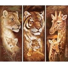 Animal 5D Full Diamonds Painting DIY Embroidery Cross Stitch Home Decor Diamond