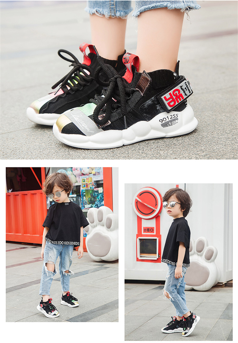 2019 Autumn Kids sneakers Girls shoes Boys Fashion Casual Children Shoes for Girl Sport Running Child Shoes Chaussure Enfant (18)
