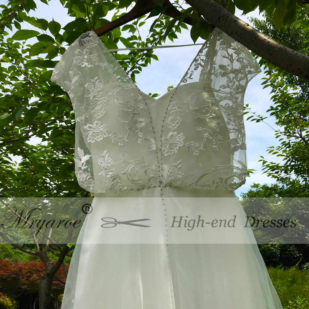 f8a0246862 ... Mryarce Unique Style Bohemian Chic Vintage Wedding Dresses Lace Beading  Flowing Beach Wedding Dress Boho Bridal ...