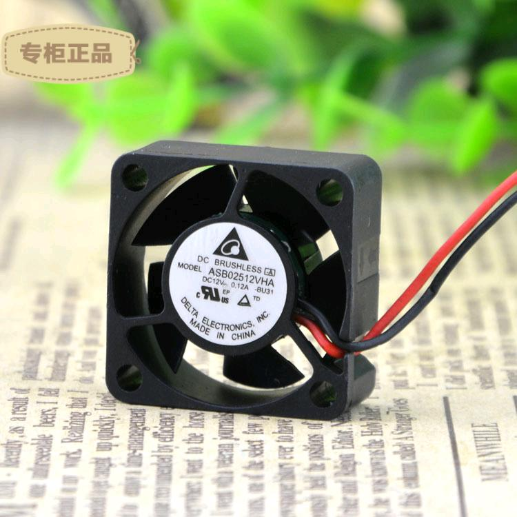Free Delivery. Silent 12 v 0.12 A cooling fan ASB02512VHA 2510 free delivery server fan avc 12 v 1 14 a 4 cm ball double rotor cooling fan db04048b12u