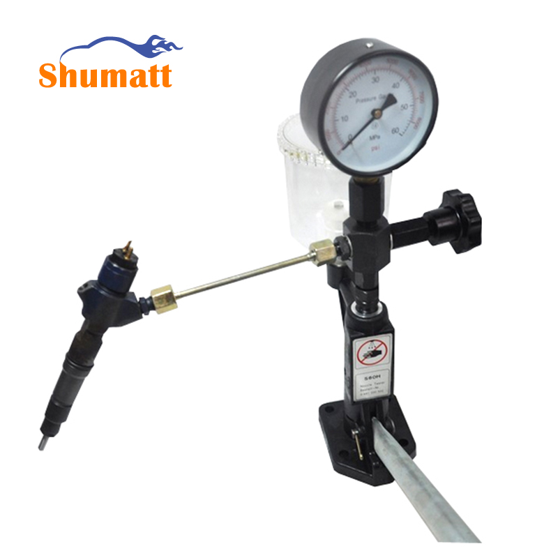 Diesel Fuel Injector Common Rail Injection Pump Nozzle Tester Calibrator Tools 0-400 BAR / 0-6000 PSI Dual Scale Gauge CRT012 мини штатив cullmann alpha 350