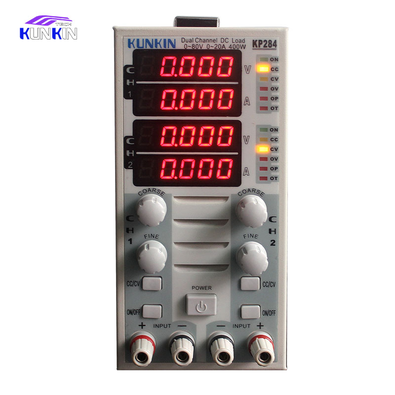 Programmable electronic load tester battery capacity test LED load drive power carrying load KP284 programmable dc electronic load 0 30a 0 150v 150w ac110 220v power supply cc cr cv cw cc cv cr cw battery test m9710