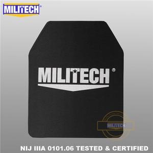 "Image 4 - MILITECH Ballistic Plate 10"" x 12"" Pair NIJ IIIA 3A 0101.06&NIJ 0101.07 HG2 Ultra Light Weight UHMWPE Bulletproof Backpack Panel"