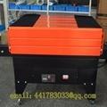 Bs-4535 tetrafluoruro encogimiento máquina de embalaje bolsa Libros reducir máquina de envasado cosmético película de encogimiento