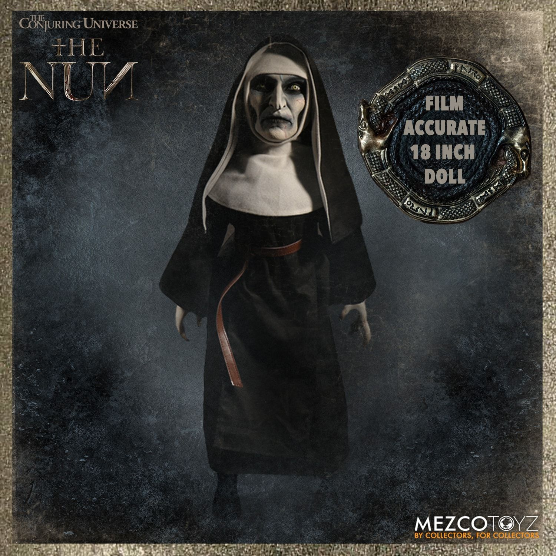 Mezco Toyz 90580 Conjuring Universe The Nun Horror Dolls 18 Figure