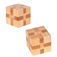 Kid's 3D Bamboo Puzzles