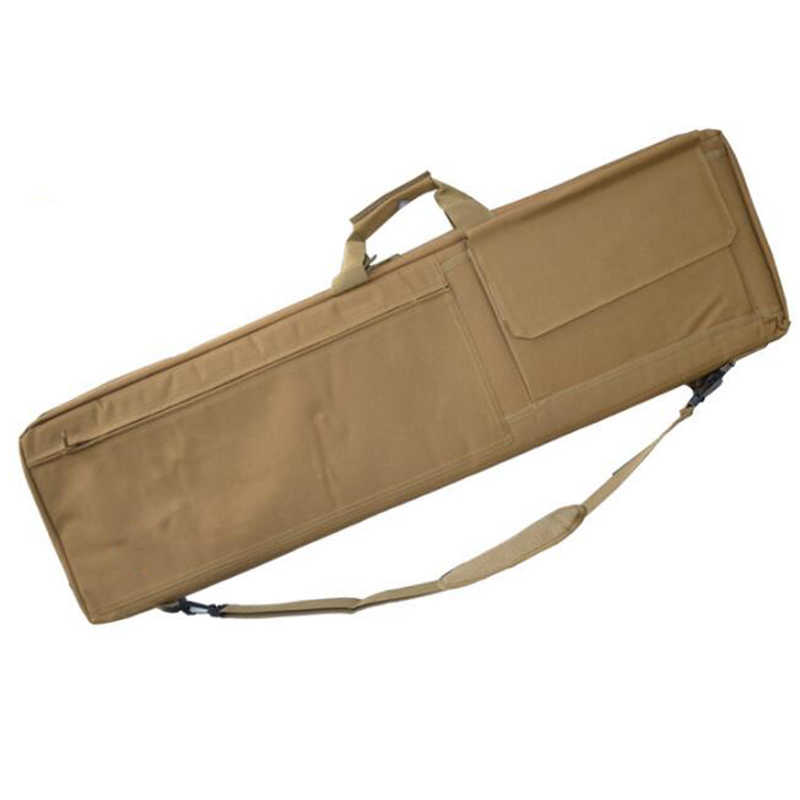 戦術的な銃バッグ軍事エアガンライフルケース屋外スポーツ銃キャリーショルダーポーチ狩猟バッグ軍狙撃銃保護ケース