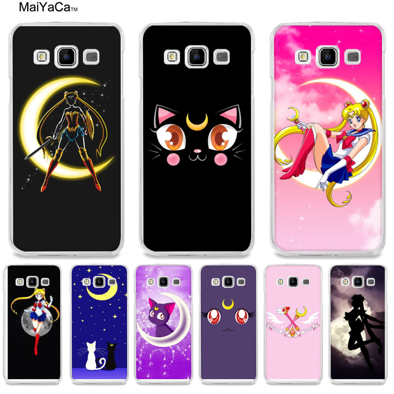 Industrious Maiyaca Anime Sailor Moon Lune Cat Luxury Fashion 3d Phone Case For Samsung A510 A3 A7 A8 A9 Note 4 Note3 Case Funda Cellphones & Telecommunications
