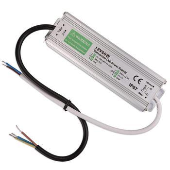 цена на Waterproof IP67 LED Driver Ac dc 12V/24V 10W 20W 30W 50W  100W 150W Power Supply for LED strip Light