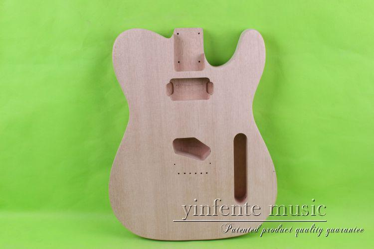 купить one 0016# unfinished  electric guitar body  mahogany made and дешево