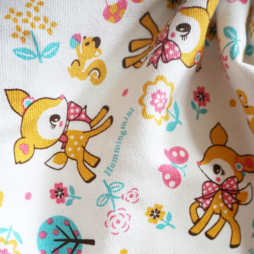 Fabric Apparel Sewing & Fabric 90*145cm Japan Cartoon Handmade Patchwork Canvas Fabric Cloth Home Textile Sewing Diy Tablecloth Sofa Cover Curtain