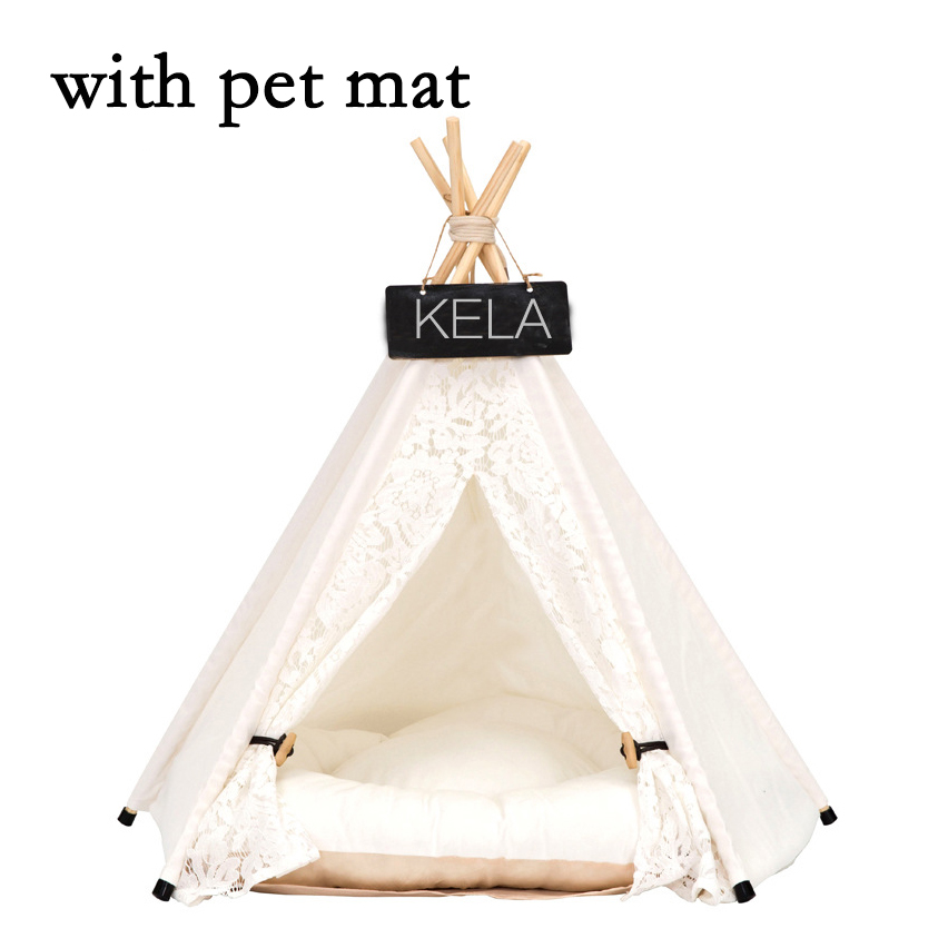 JORMEL Pet Tent Pet bed Portable Washable Dog Puppy Toy House Cat Teepee Star Pattern Contain Mat New 2019 JORMEL Pet Tent Pet bed Portable Washable Dog Puppy Toy House Cat Teepee Star Pattern Contain Mat New 2019