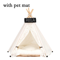 JORMEL Pet Tent Pet bed Portable Washable Dog Puppy Toy House Cat Teepee Star Pattern Contain Mat New 2019