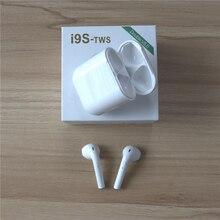i9s-tws Bluetooth наушники беспроводные наушники гарнитуры стерео наушники-вкладыши с зарядной коробкой для ios Android