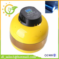 Home Use Digital Control 10 Egg Incubator Manual Turning Chicken Quail Poultry Hatcher