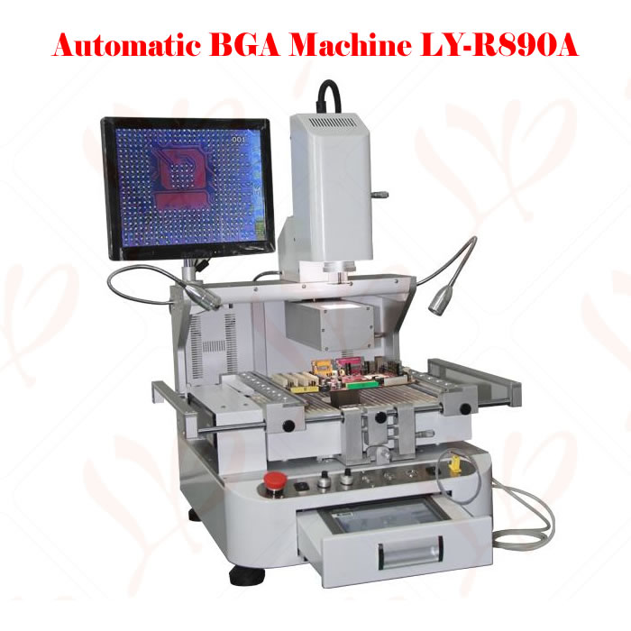 Automatic BGA Rework Station R890 Motherboard Repairing Machine With CCD Alignment System