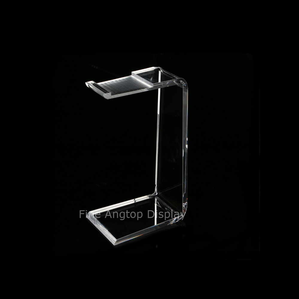 Acrylic Headphone Stand Headset Jewelry Holder Necklace Display Hanger