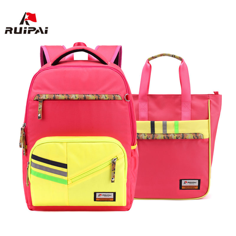 RUIPAI Brand School Bags for Teenagers Girls 2017 Nylon Children Backpack Sets Cute Boys Backpacks Schoolbags High QualityRUIPAI Brand School Bags for Teenagers Girls 2017 Nylon Children Backpack Sets Cute Boys Backpacks Schoolbags High Quality
