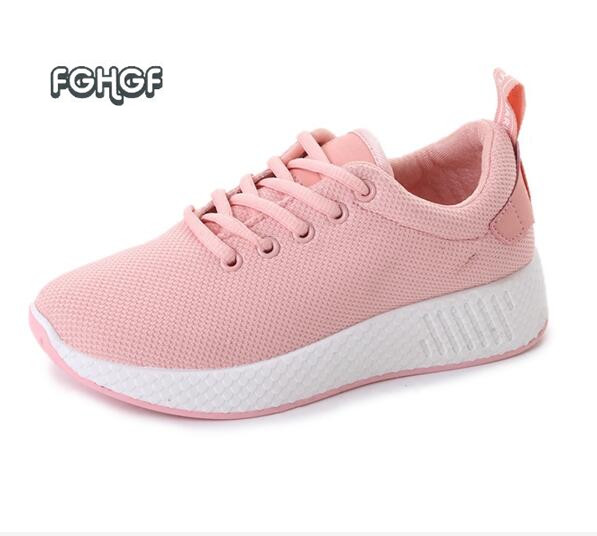 New autumn women shoes woman casual shoes women white shoes flats trainers creeper tenis feminino casual zapatillas mujer casual 2017brand sport mesh men running shoes athletic sneakers air breath increased within zapatillas deportivas trainers couple shoes