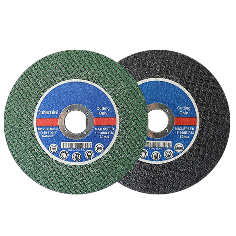 105mm/4'' Saw Blade Resin Cutting Disc Cut Off Wheel Angle Grinder Disc Slice Fiber Reinforced For Metal Stainless Steel J101L-1