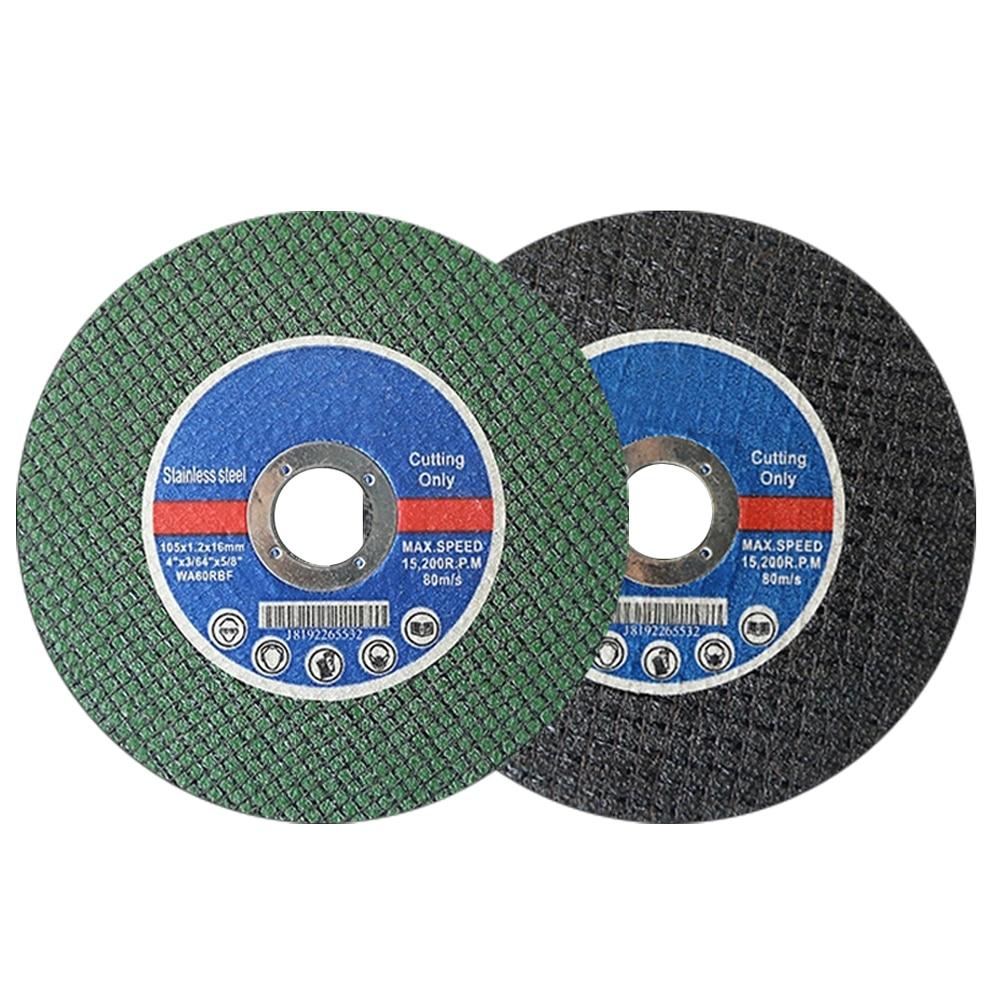 105mm/4'' Saw Blade Resin Cutting Disc Cut Off Wheel Angle Grinder Disc Slice Fiber Reinforced For Metal Stainless Steel J101L-1