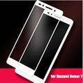 Para huawei honor 7 vidrio templado 0.2mm totalmente cubierta anti-explosión protector de pantalla de cristal de cine para huawei honor 7 5.2 'smartphone