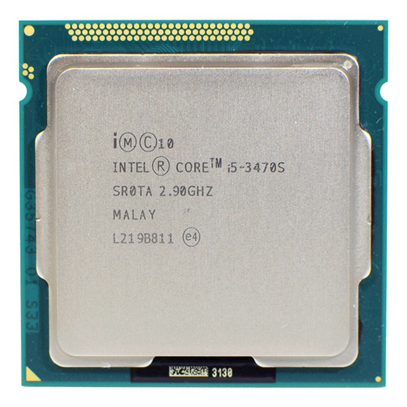 Intel Core I5-3470S  6M 65W LGA 1155 2.9 GHz Quad-Core CPU Processor