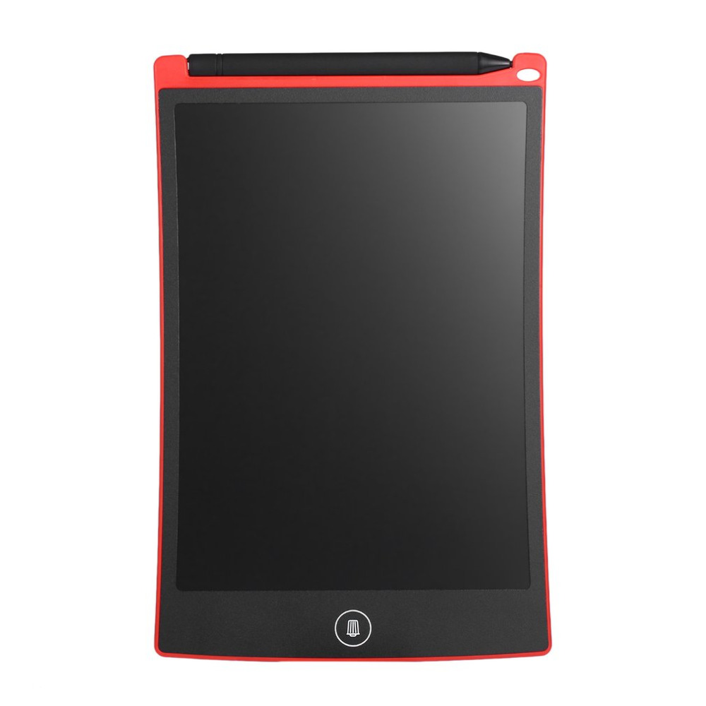 8.5 Red LCD eWriter Tablet Writting Drawing Pad Memo Message Board Notepad & Stylus Portable Board ePaper Handwriting Pad ...