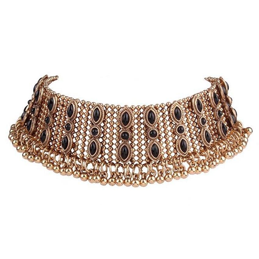 gold necklace choker (2)