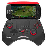 Ipega 9028 PG-9028 sem fio bluetooth controlador de jogo joystick gaming vendedor com touchpad para iphone & ipad android pc