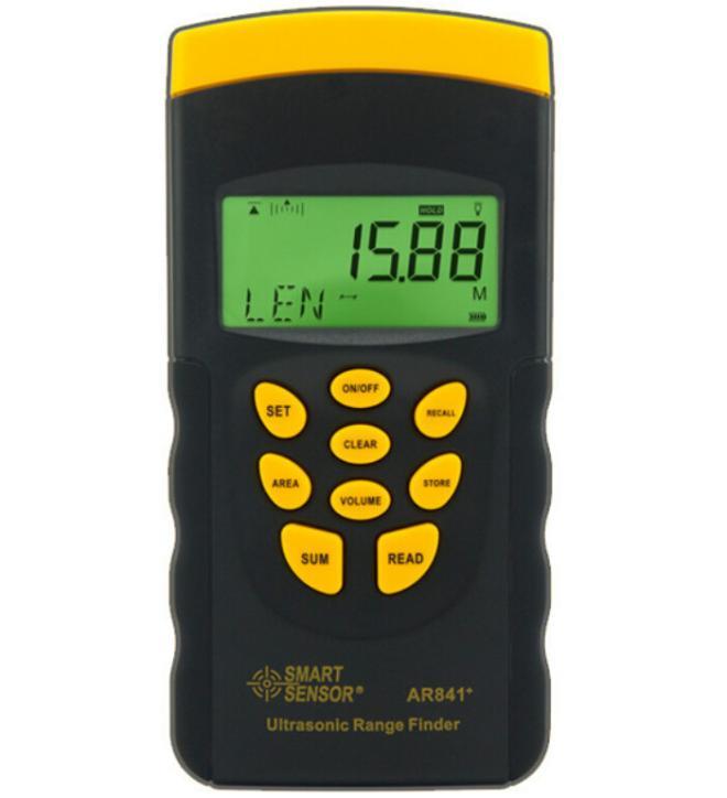 Ultrasonic Range Finder AR841 Measurement Range 0.3-20m Digital Distance Meter Laser Distance Range Finder Meter Measurer Tool original dvb t satlink ws 6990 terrestrial finder 1 route dvb t modulator av hdmi ws 6990 satlink 6990 digital meter finder