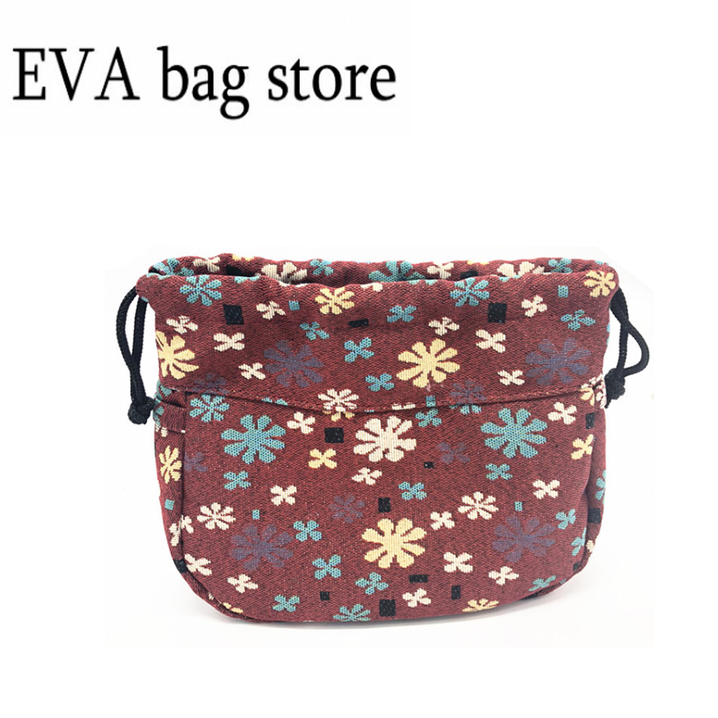 1 Inner O Swing Bag Inner Pocket Lining For Obag Swing Drawstring Canvas Fabric Handbag Insert