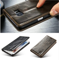 Luxury Phone Cases For Samsung Galaxy S7/ S7 Edge Original Brand Genuine Leather Magnet Auto Flip Wallet Case Cover Accessories